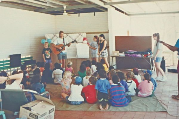 Music time with the kids
