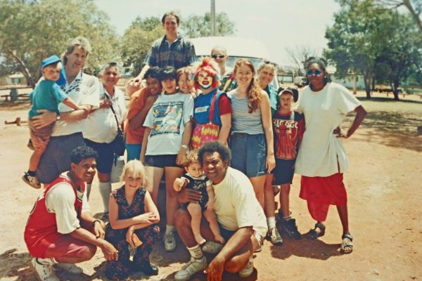 Group Photo in Alice Springs