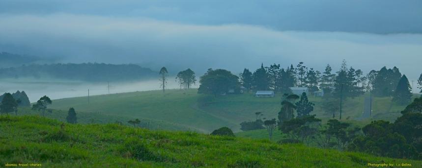 Foggy & misty hills