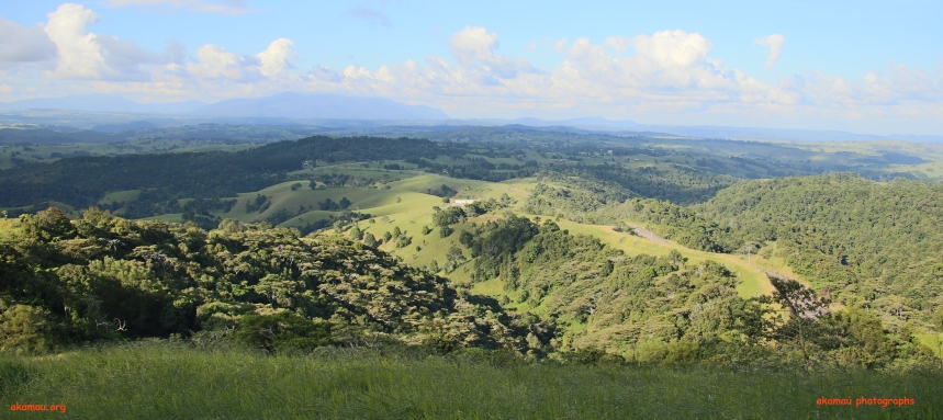 Rollings hills of Atherton Tablelands