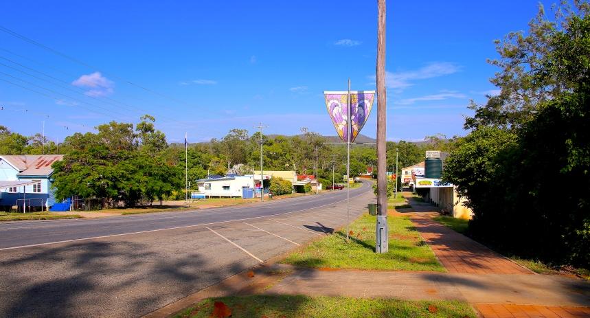 Main street of Mt Garnet township
